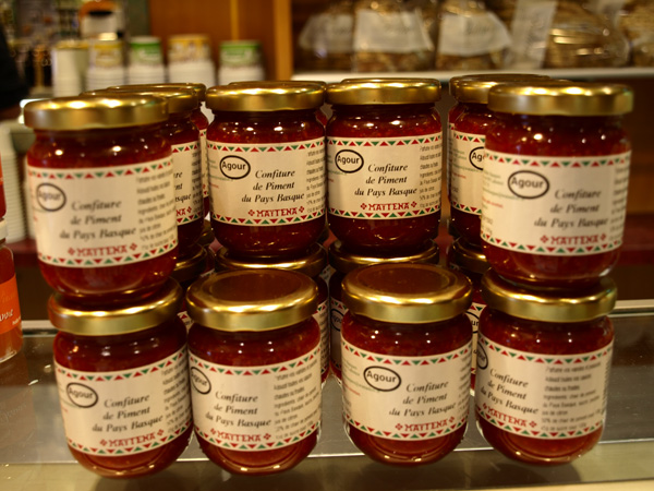 Confiture de piment du pays basque