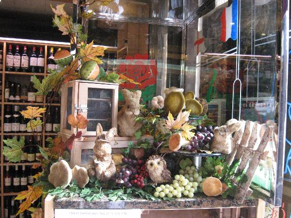Vitrine automne fromagerie legall versailles - Deco vitrine automne ...